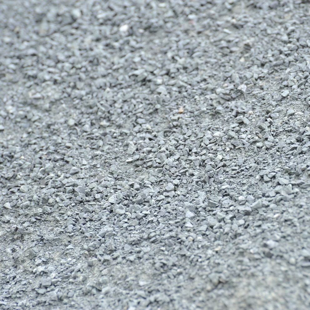 Fine-Graded Aggregate - A gradation having a continuous grading in sizes of particles from coarse through fine with more material smaller than the primary control sieve.