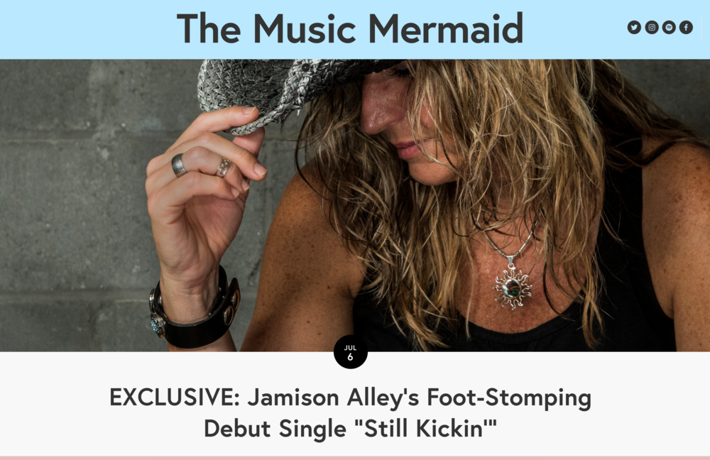 July 6, 2018 - Article published on The Music Mermaid.     Read the full article here.