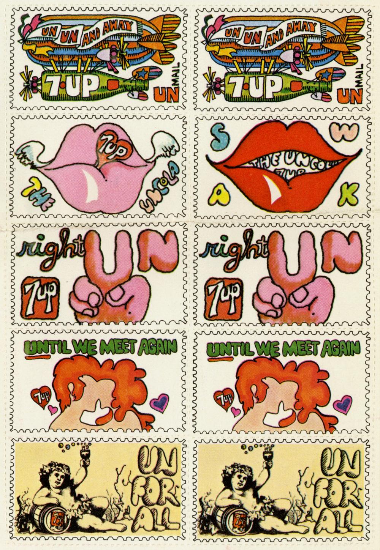 7-Up Stamp Sheet