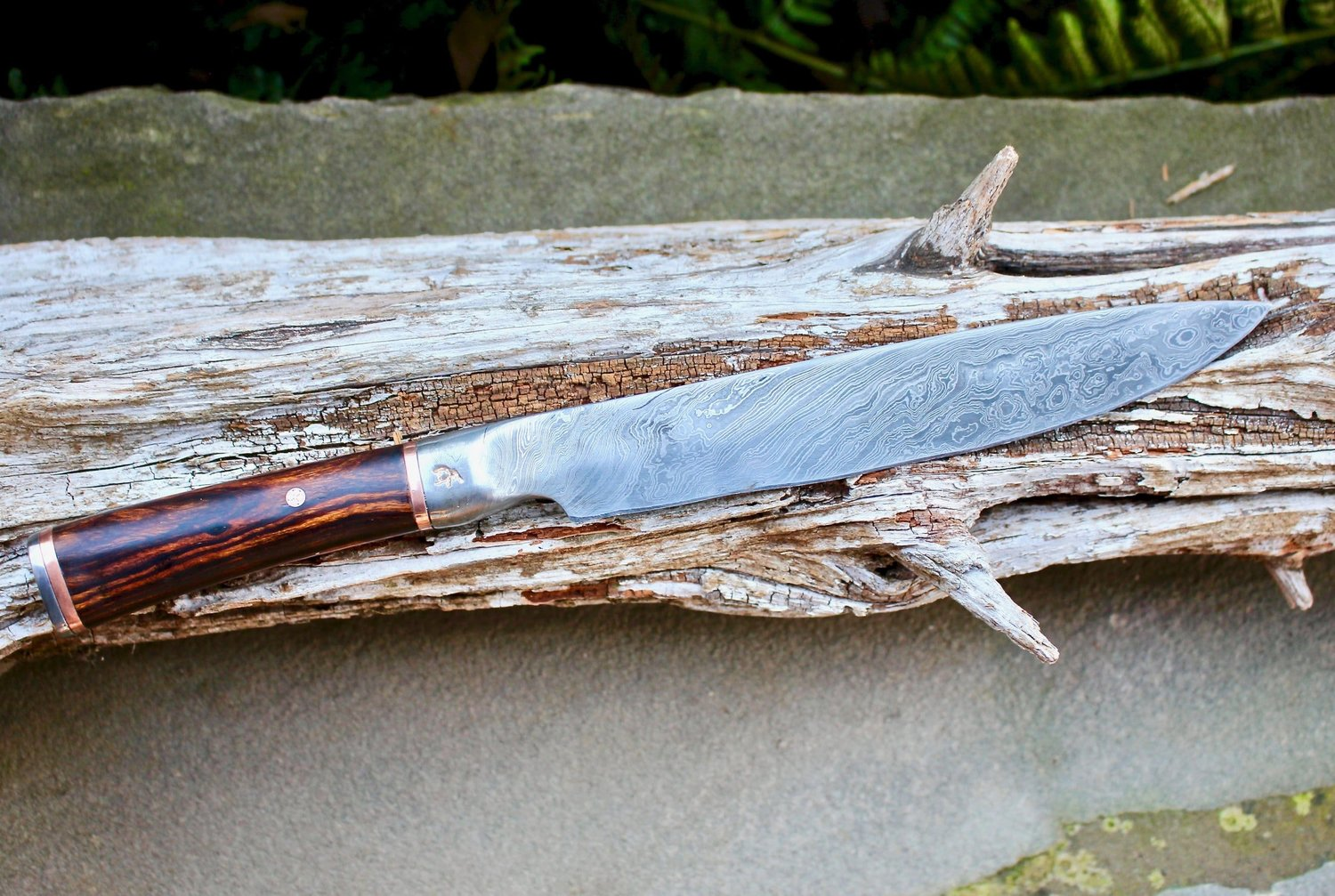Custom Kitchen Knife Finished and Ready to go to Its New ...