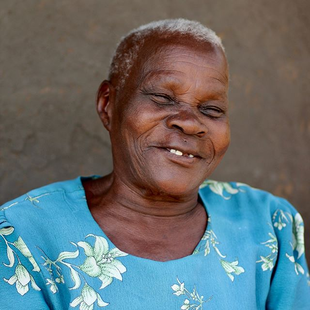 """Amalia Unyoku: A wise Ugandan woman. """"Dede"""" which means """"grandmother"""" in the Aringa Lugbara language, is what is she is most known as in her community.  When asked what she would tell women out in the world she said """"Take the freedom that has been given to you and use it to educate other woman, respect yourself, and participate in public activities so that you can continue to live in freedom"""" (This picture used with consent and permission) #grandmothers #grandmother #grandmotherwisdom #respectyourself #participate #freedom #dede #yumbe #womensday #internationalwomensday #uganda#wisdom #wisewoman #ugandanwoman"""