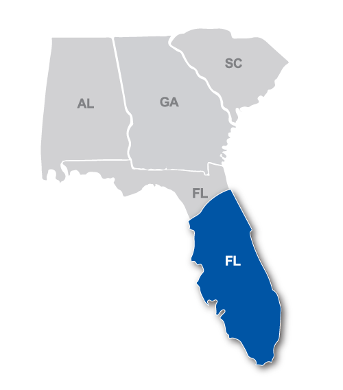 Central and South Florida Region Map.png