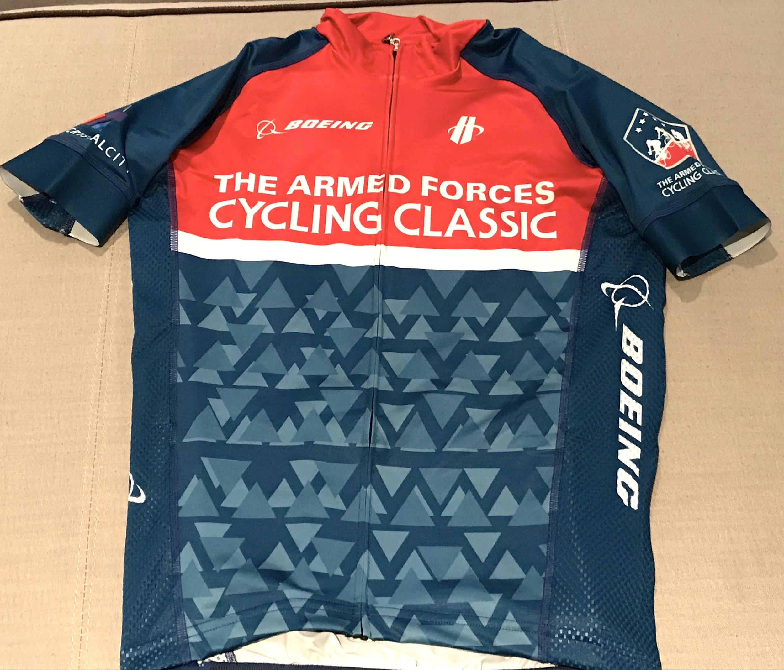 2018 Armed Forces Cycling Classic Official T-Shirt