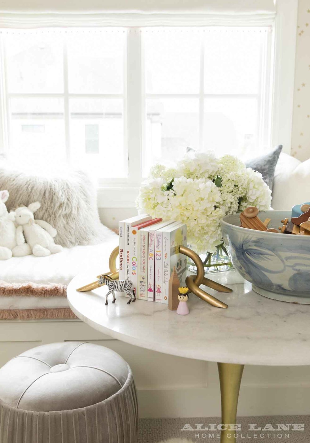 Ivory Lane Nursery | Alice Lane Interior Design | Photo by Nicole Gerulat