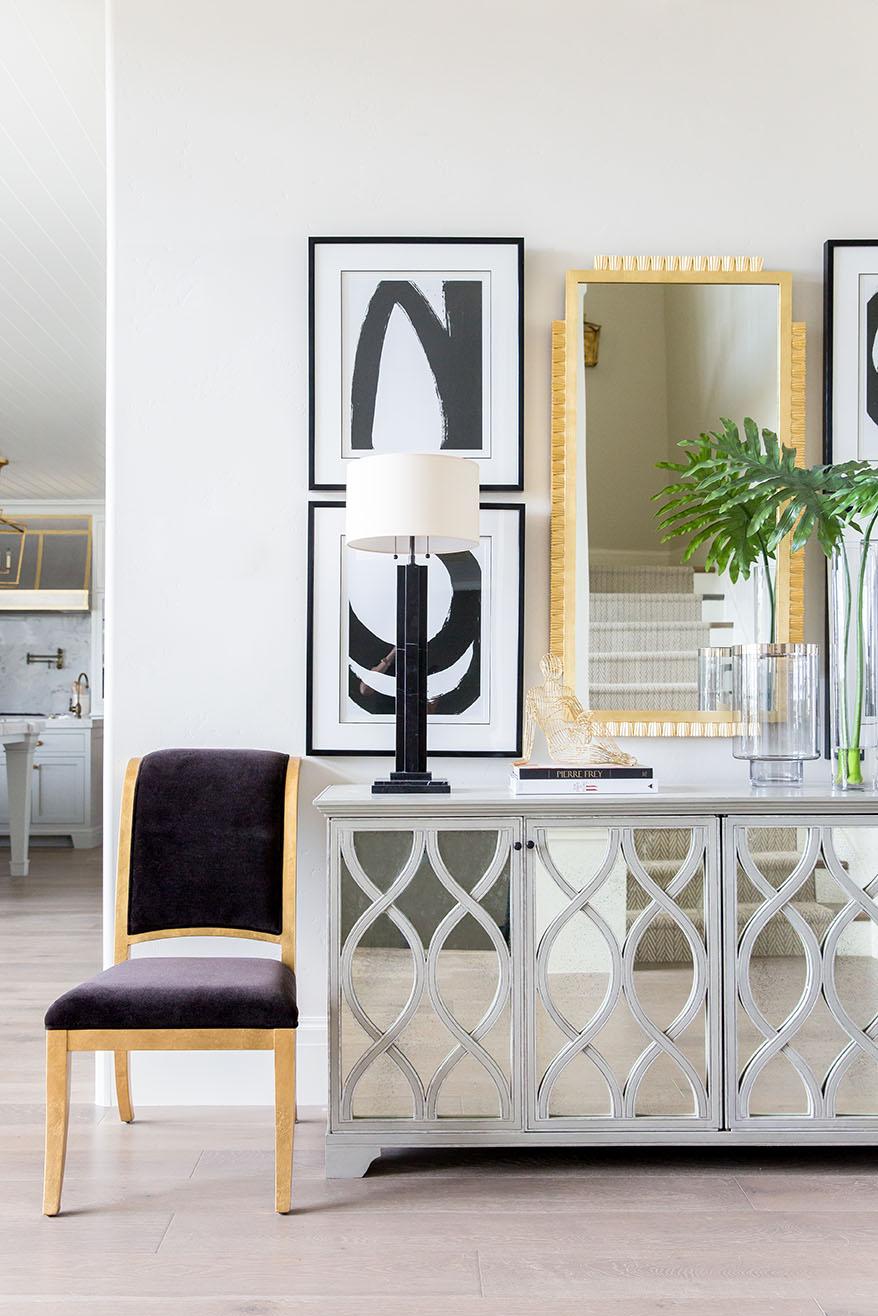 Ivory Lane Entry | Alice Lane Interior Design | Photo by Lindsay Salazar
