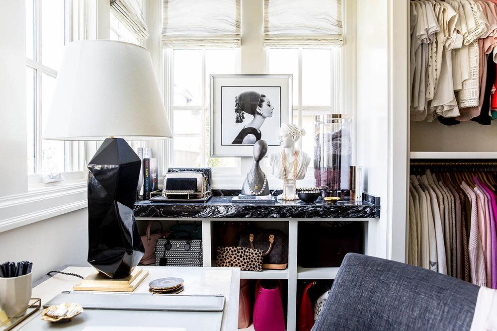 Ivory Lane Closet | Alice Lane Interior Design | Photo by Lindsay Salazar