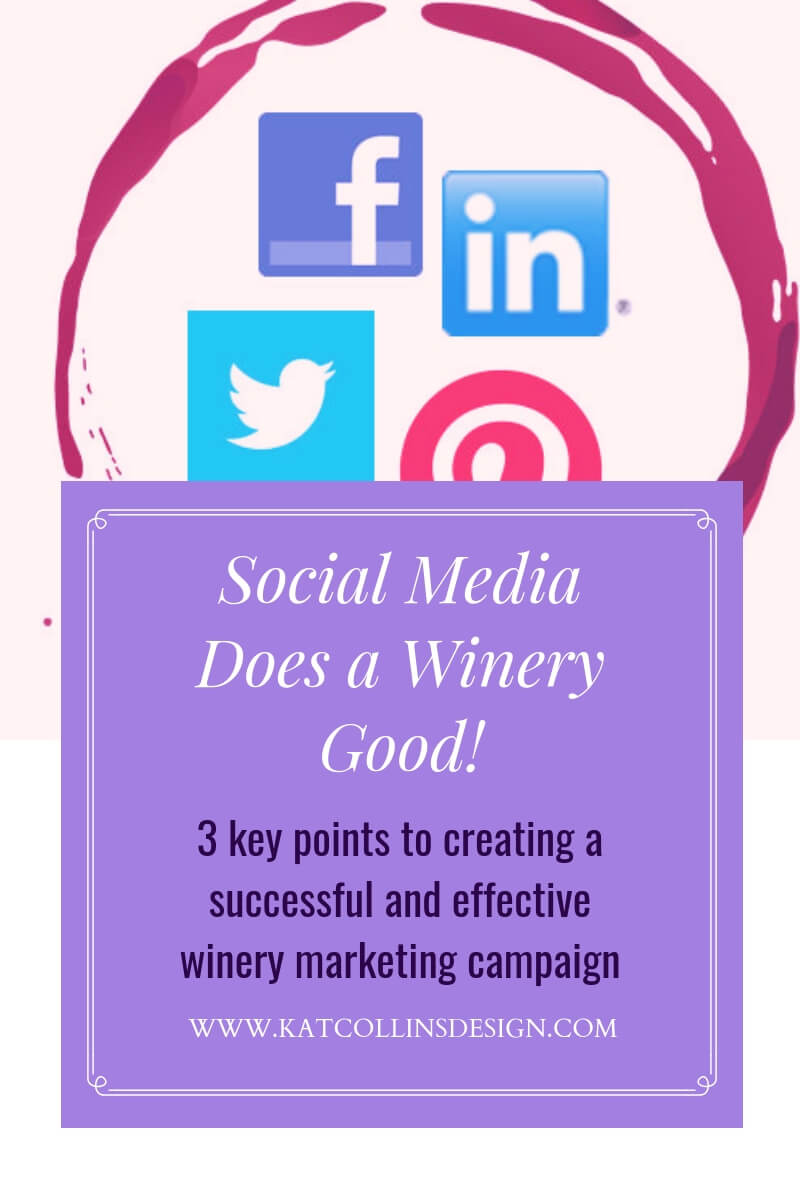 Every winery and vineyard needs to use social media. It's an effective winery marketing tool.