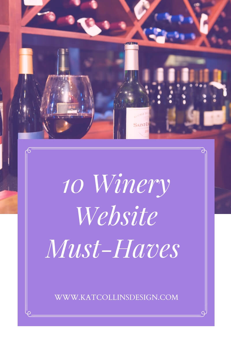 10 Winery Website Design must-haves for your winery website.