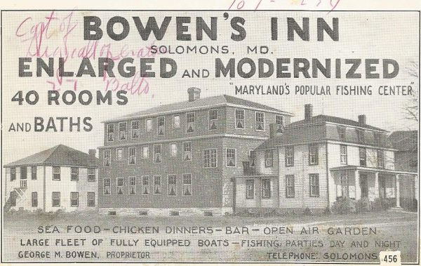 Postcard from Bowen's Inn