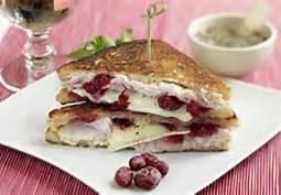 Cranberry Turkey Melt