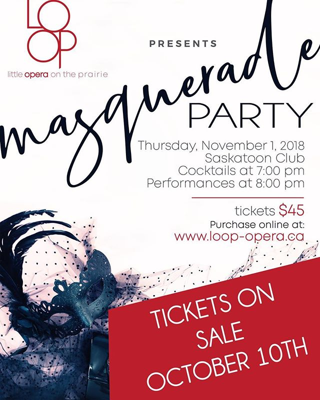 So excited to announce the masquerade is happening November 1st! See you there!! 😊😊😊😊