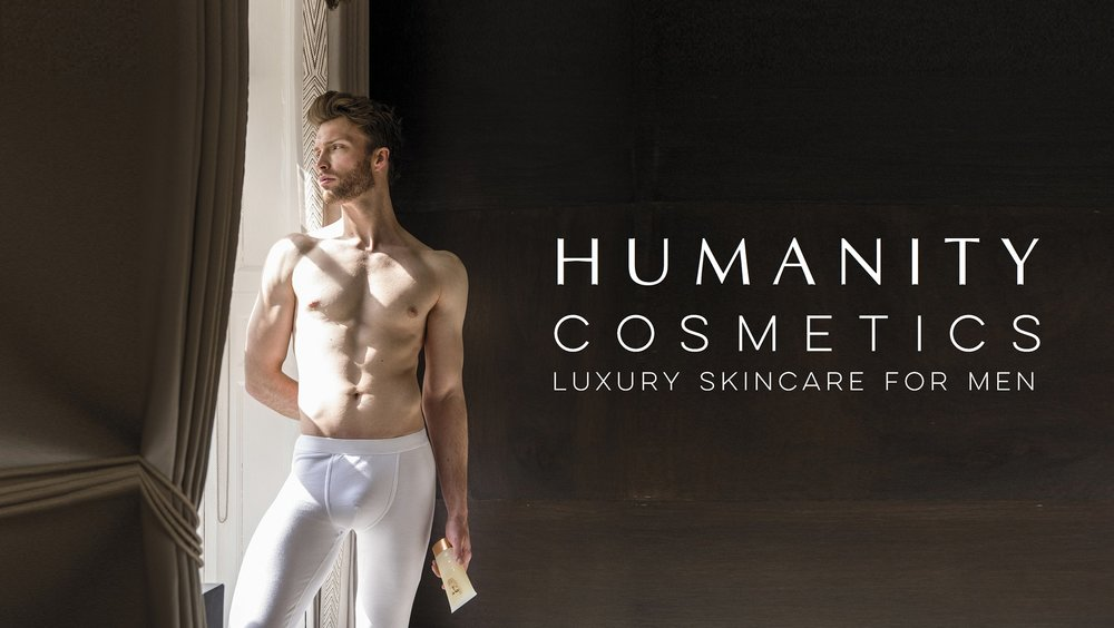 Humanity Cosmetics Luxury Male Products - Skincare and Grooming for Men