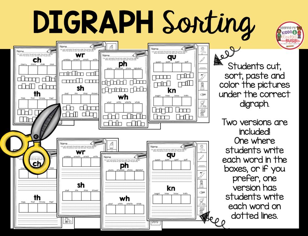 sort digraphs