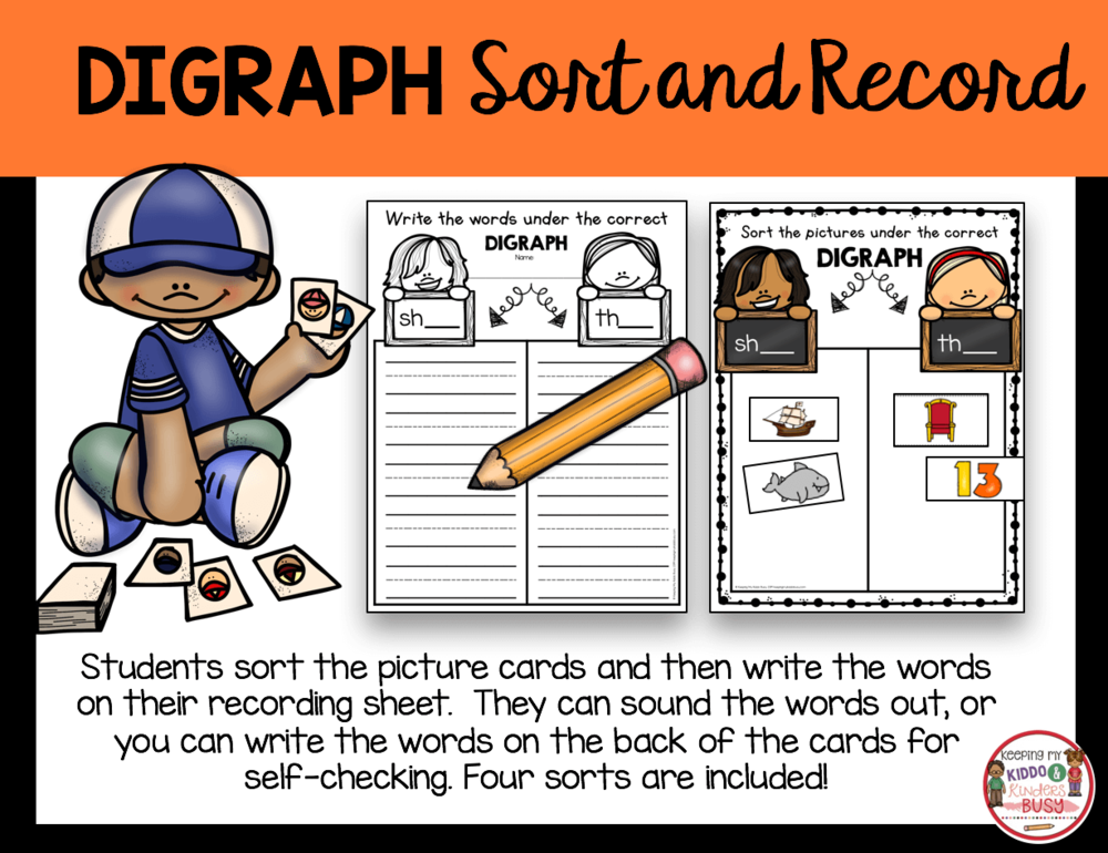 digraph sorting and writing