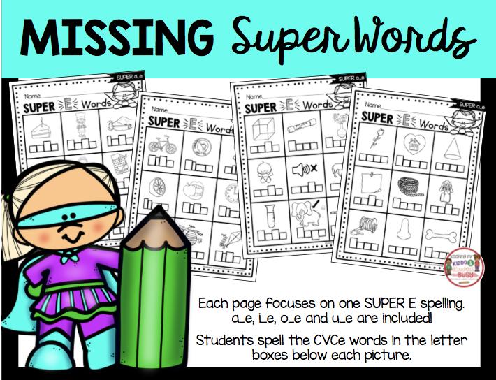 long vowel silent worksheets