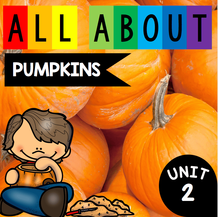 All About Pumpkins Plus A Freebie Keeping My Kiddo Busy