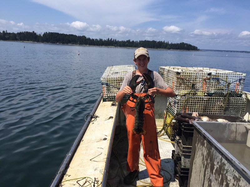 Aragosta Mama's Interview with Dana Hole at Heath Hawkes' boatyard