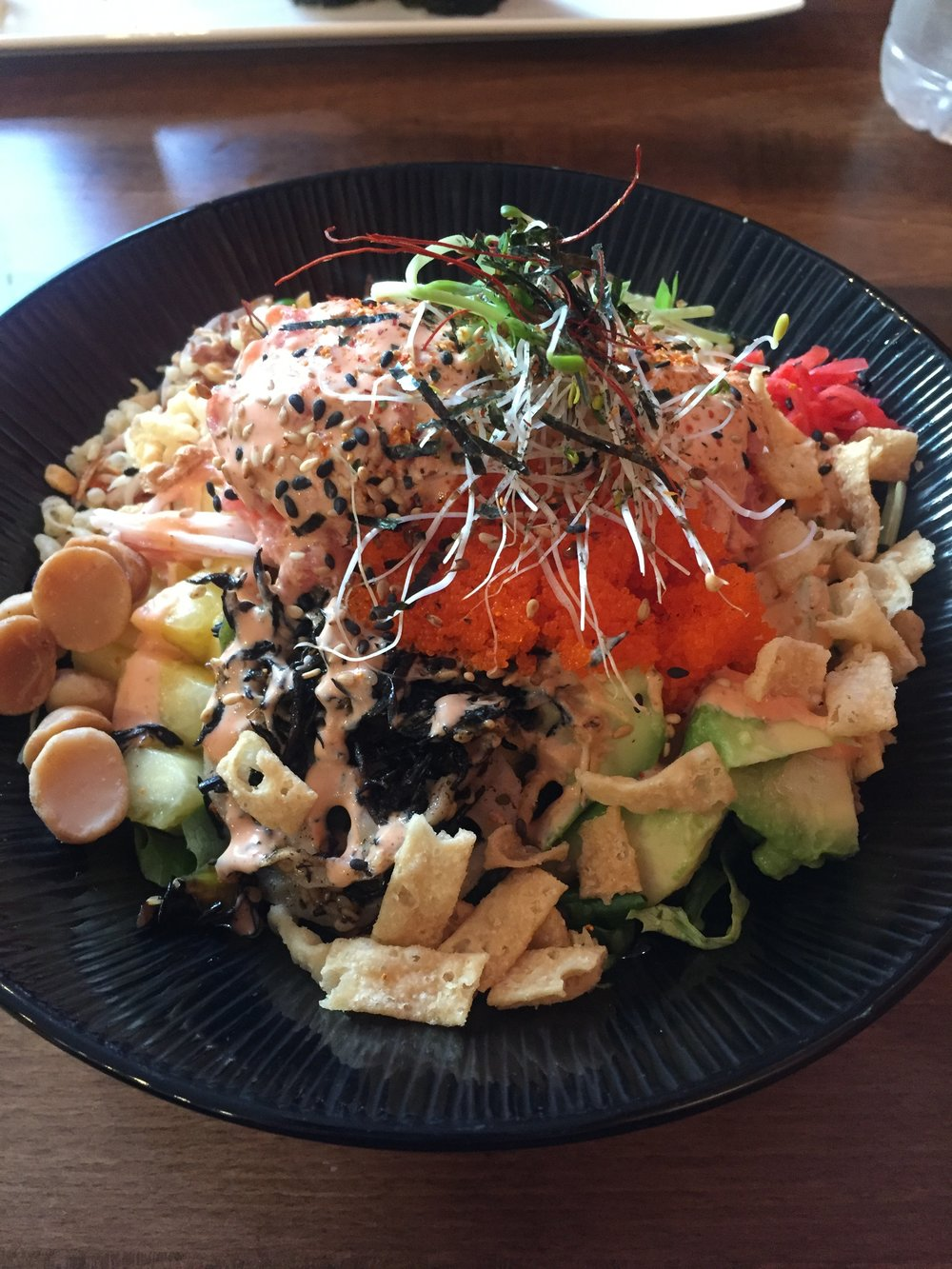 Spicy Tuna at Crunchy Poke
