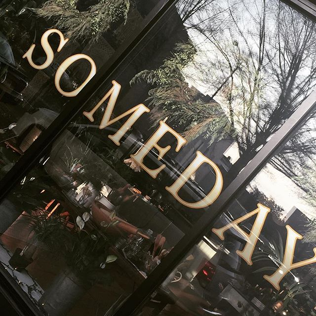 Someday. Broad Street. #rva #richmondfonts #rvafonts