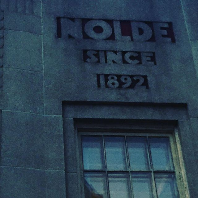 Nolde Church Hill #rva #fonts #lettering