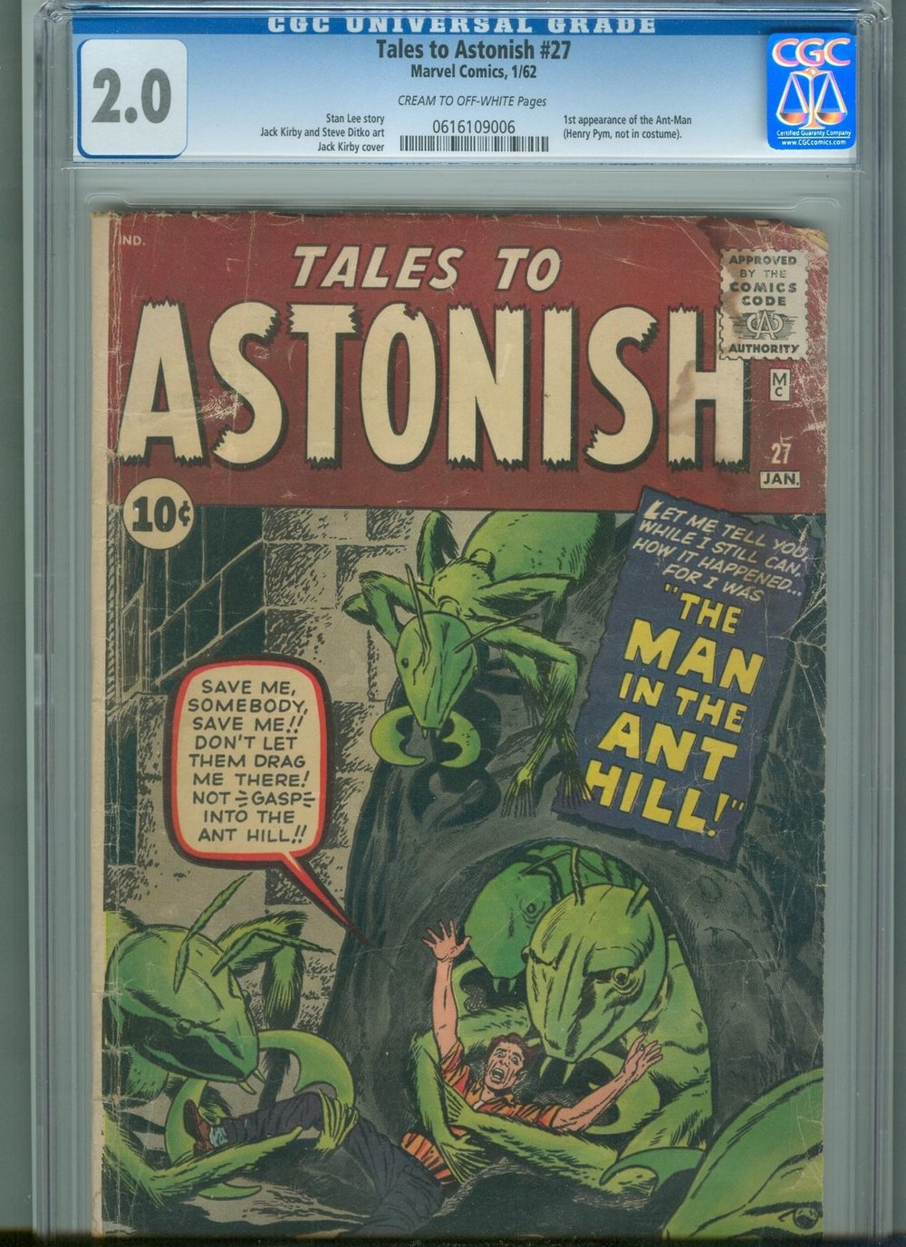 The first appearance of man before he became Ant Man Antonym Adam Atom Antigone Antipode Adamantium