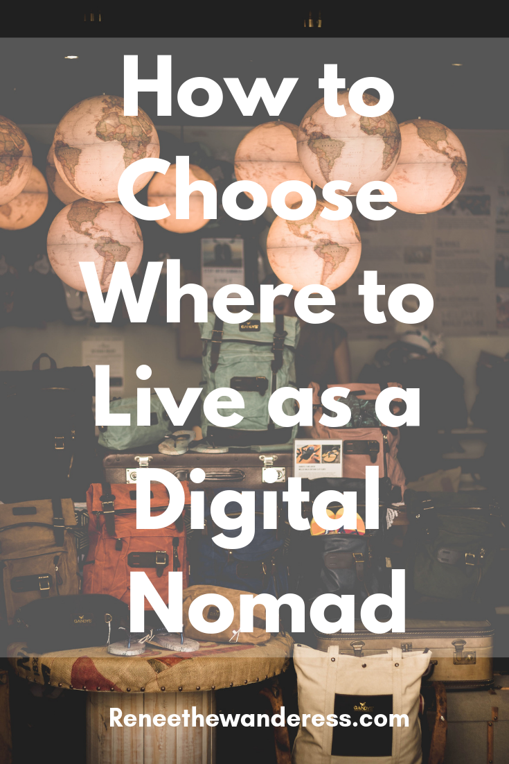 where to live as a digital nomad