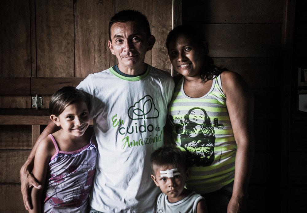 Família parceira do programa