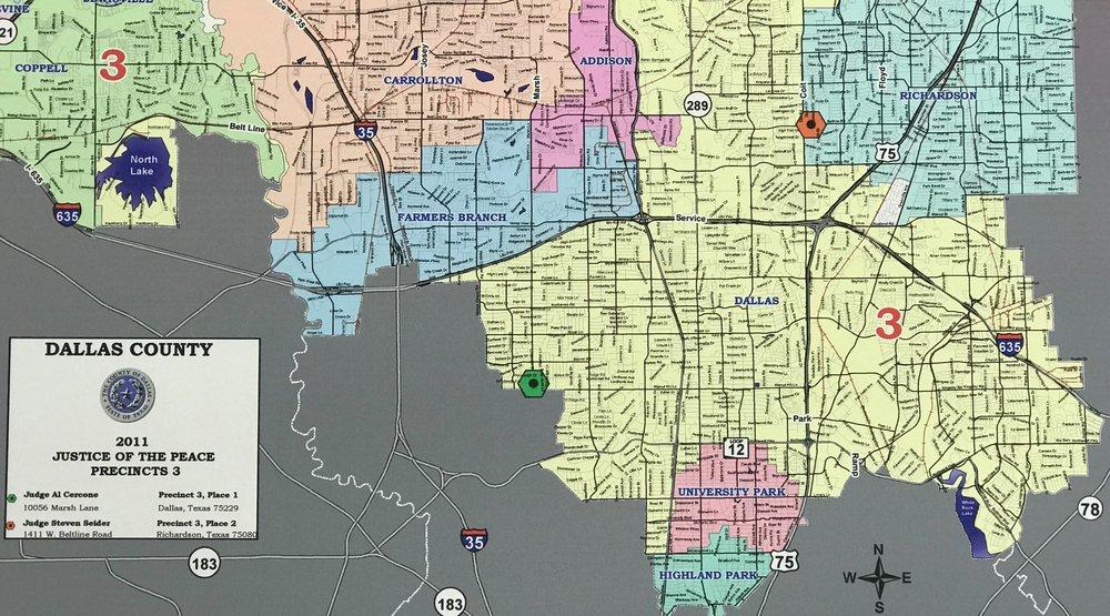 Justice of the Peace, Precinct 3 Map