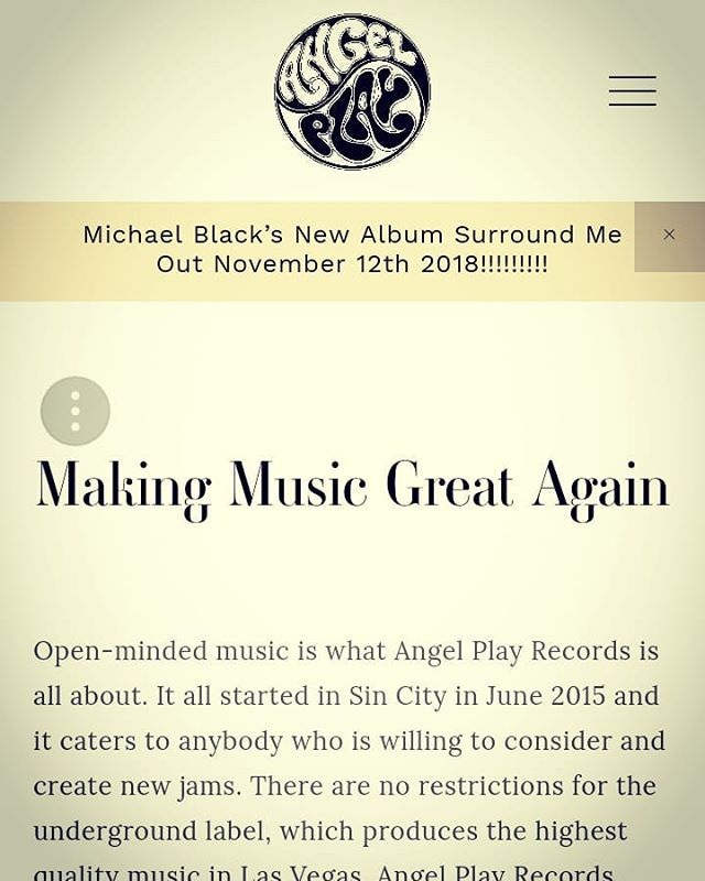 Check out our new website!! Link in bio!! #angelplayrecords #music #recordlabel  #worldwide