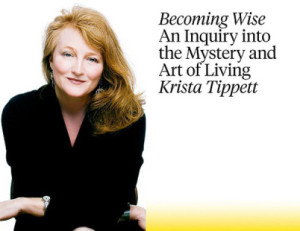 Krista Tippett - Becoming Wise Book Discussion