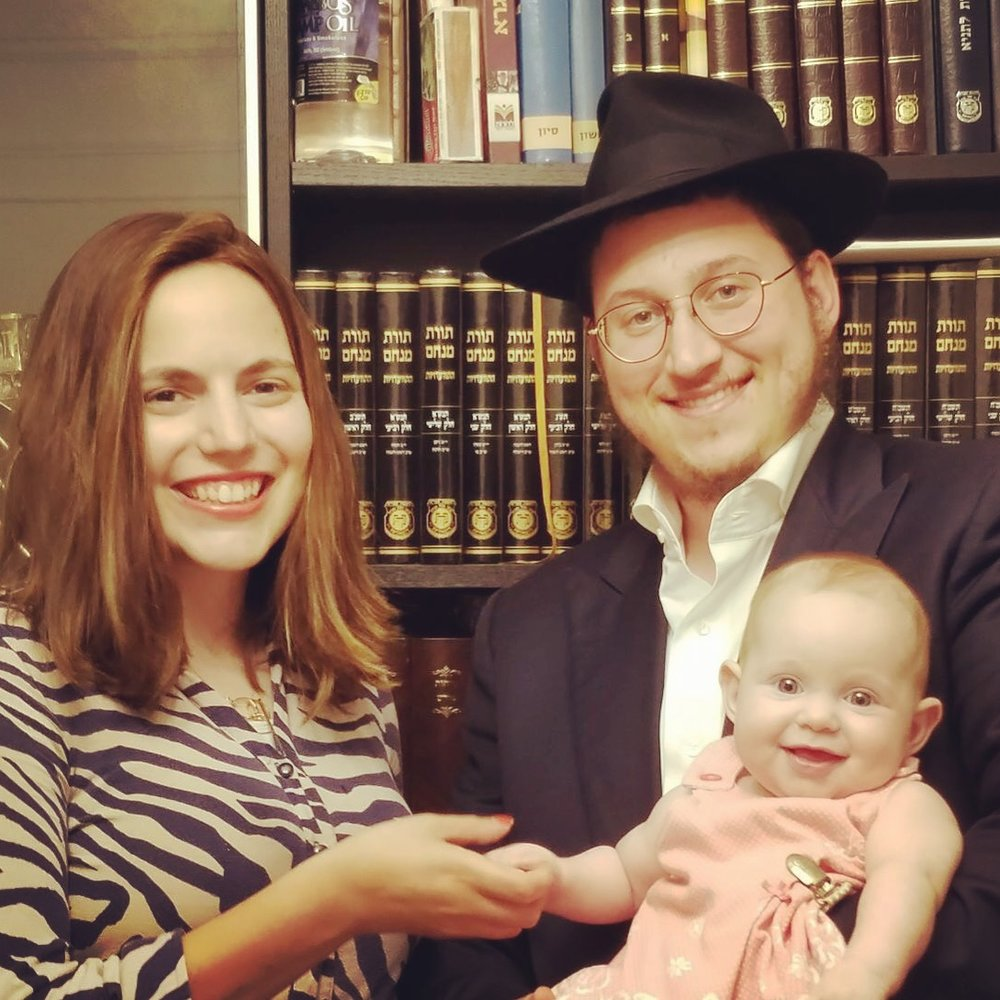 Rabbi Chaim and Chaya - Chaim, born and bred in El Paso, Texas studied in Yeshivas in the midwest and Europe and received his Rabbinic ordination in the Central Lubavitch Yeshiva. He interned for two years at Chabad on Campus and has worked in various Chabad centers in the US and Asia.Chaya was raised in Charlotte and studied in Chabad institutions in the US and Israel. She accumulated extensive educational experience through her various work in Chabad schools and summer camps in the US and Europe.They are the proud parents of Rivka.