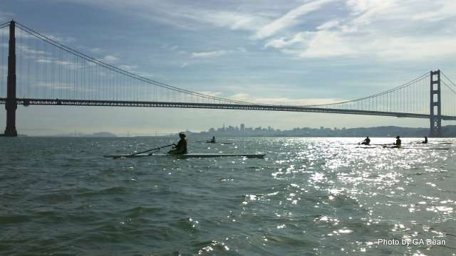 Beyond the Golden Gate Bridge: A group row to Point Diablo