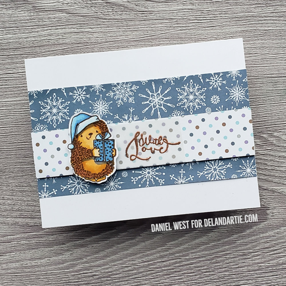 The Paper Crate Card Making Kit Review Del Artie