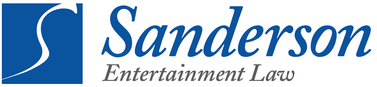 SANDERSON ENTERTAINMENT LAW
