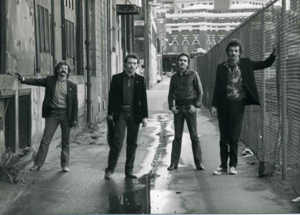 INCOGNITO 1982 - Robbie Roe, Tank, Bob McMinn, Muddy Fraser.