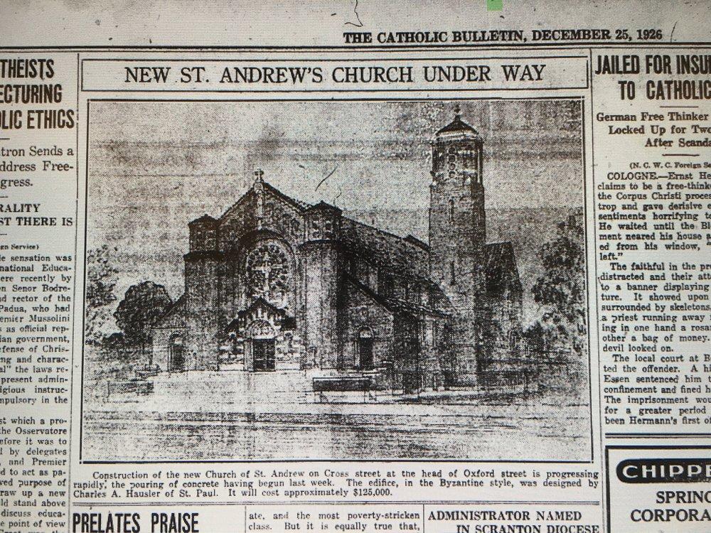 Newspaper coverage, 1927