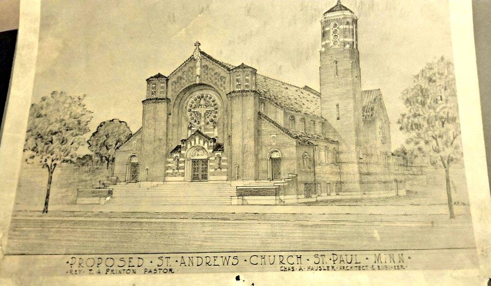 St. Andrew's Design Sketch