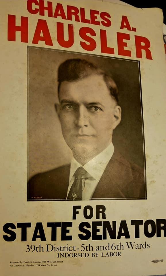 Campaign Poster, State Senate