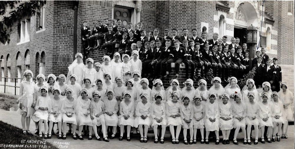LP Connolly Sr 1931 1st communion St Andrews Top Rt.jpg