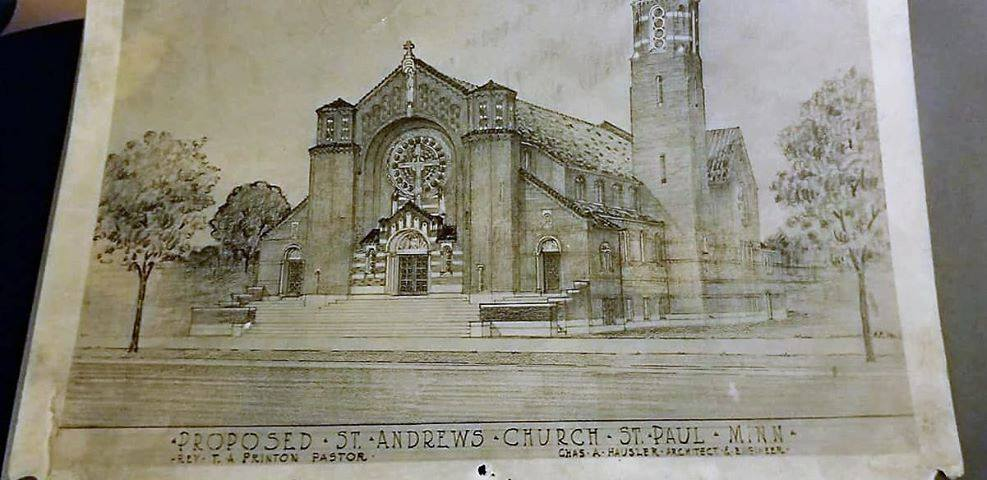 Elevation Drawing by Charles Hausler (provided by Jennie Hausler)