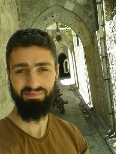 Wissam Zarqa, English teacher and anti-government activist.