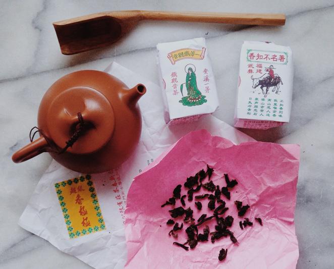 Oolong teas from Pek Sin Choon