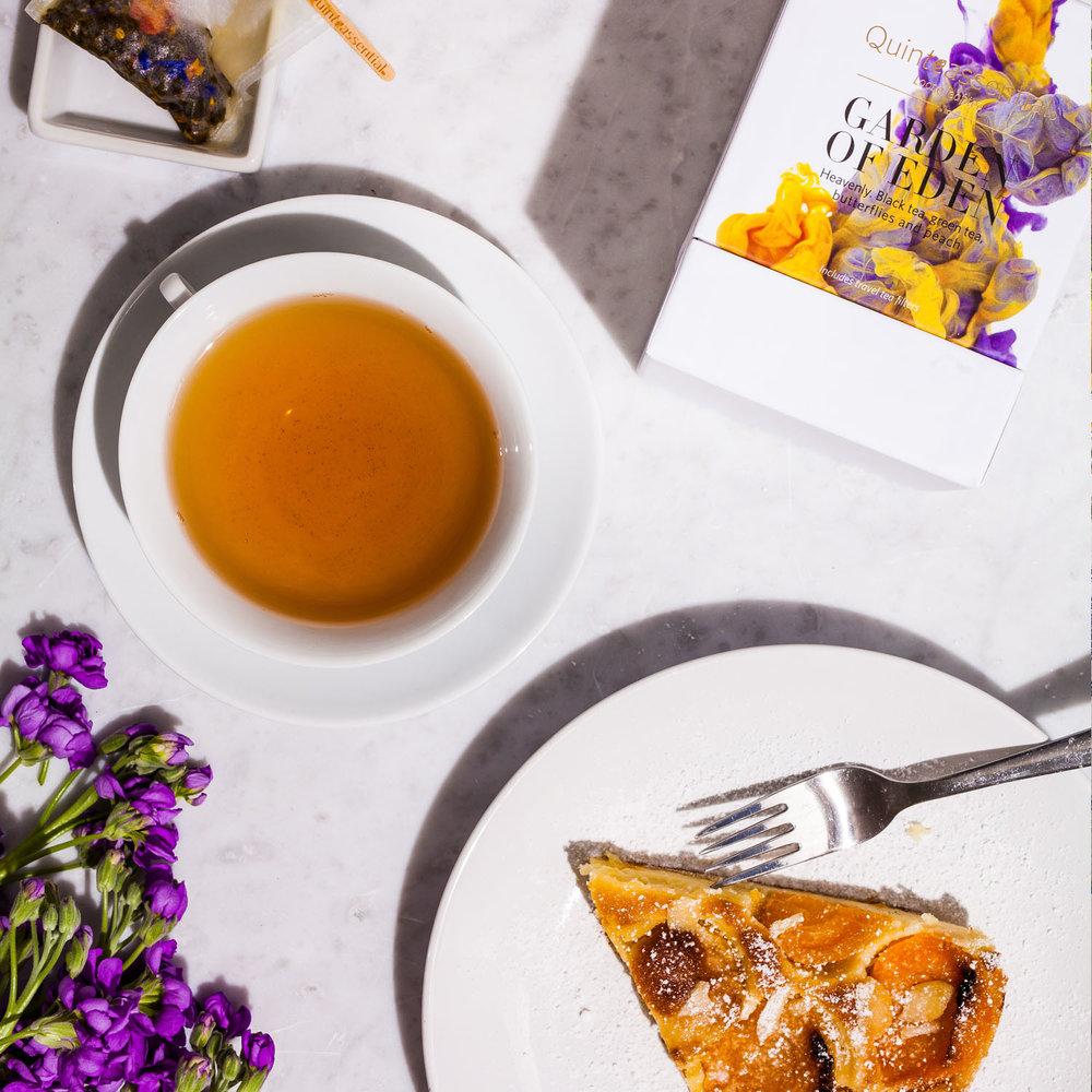 Premium loose leaf tea – Quinteassential green tea and black tea blend