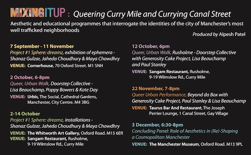 Mixing It Up: Queering Curry Mile and Currying Canal Street - Group Exhibition