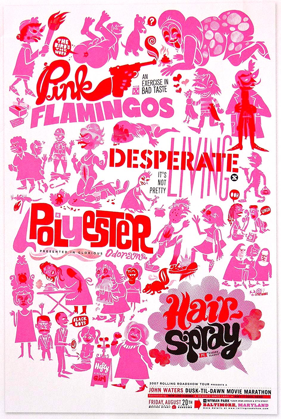 Dusk 'til Dawn Film Festival Poster