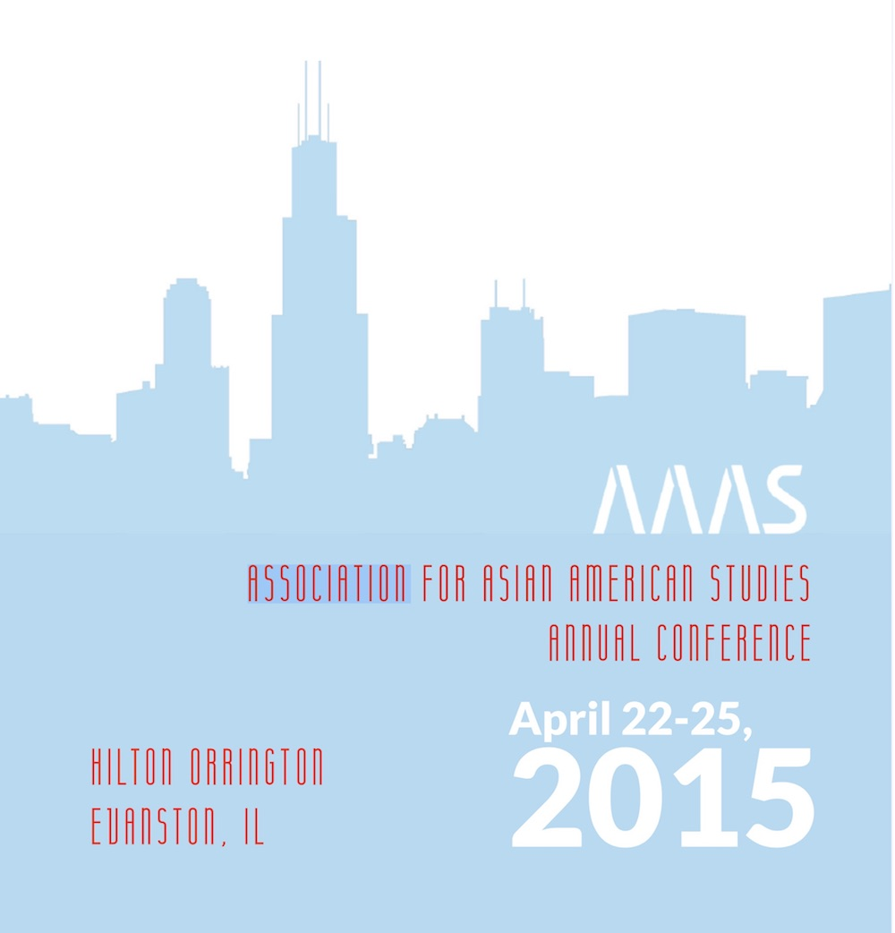 """Chicago, IL - April 23 - 25, 2015Contribution to """"Contemporary Art, Embodied Mediations, and Queer Transnational Flâneurie"""" panel.Chaired by Natasha Bissonauth"""