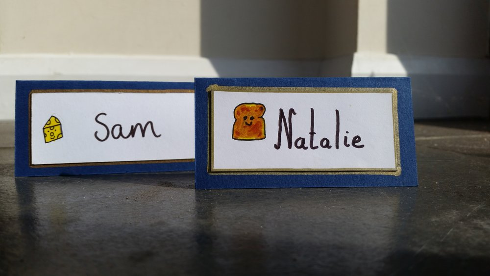 Cheese and Toast Place Names