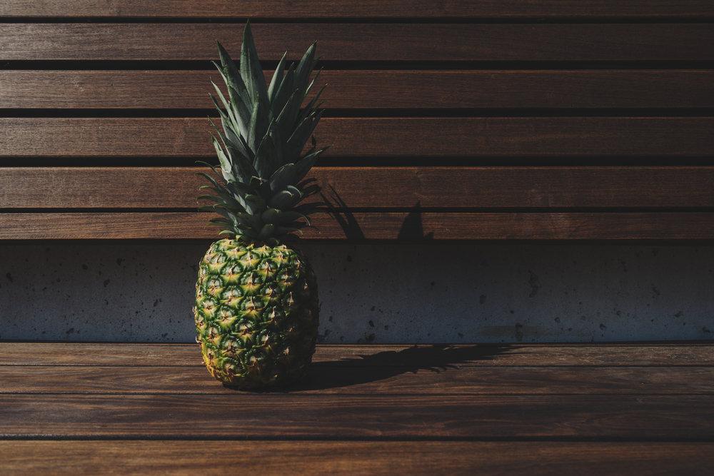Sunt liv - Ananas