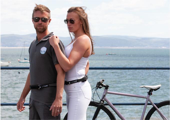 Kit universel clip-on conçu pour s'adapter à la plupart des cyclistes.