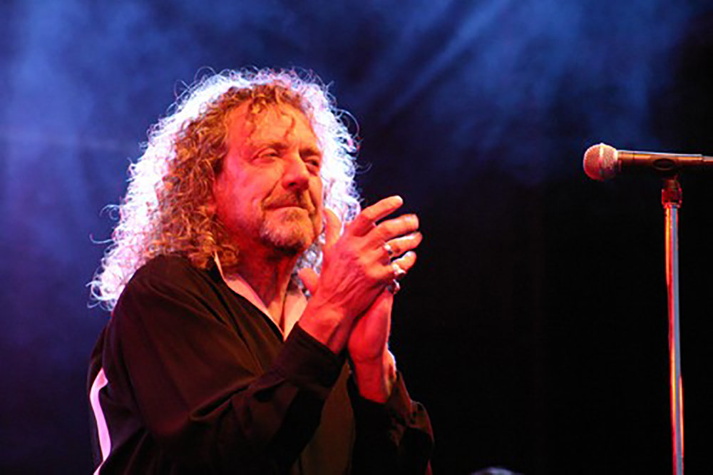 Robert Plant at Cornbury Music Festival, The Great Tew Park, Oxfordshire